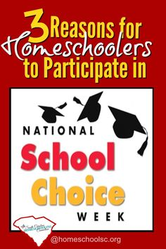 Homeschoolers and School Choice Week. 3 Reasons to motivate homeschoolers to participate in School Choice Week. It's not too late to celebrate this year!