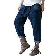 Katuo Harem Pants Cropped Jeans Women Large Size Casual Pants KATUO http://www.amazon.com/dp/B00RGJVWV4/ref=cm_sw_r_pi_dp_dhytvb0CZWQYM