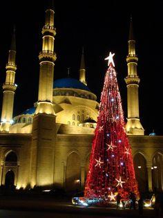 Christmas in Beirut, Lebanon