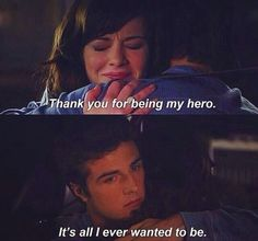 Jenna and Matty are my favorite TV couple...even if they currently aren't a couple...