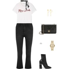 Street Style by julieselmer on Polyvore featuring moda, Marc Jacobs, Frame, 3.1 Phillip Lim, Burberry and Scosha