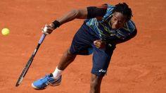Tennis Roland Garros: Gael Monfils still strong in match against Ernests Gulbis Gael Monfils, Tennis News, Tennis World, Strong, Baseball, Sports, Roland Garros, Baseball Promposals, Hs Sports