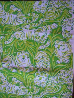 Baby & Toddler Clothing Girls' Clothing (newborn-5t) Lilly Pulitzer Sea Turtle Print Pants Nwot Vintage Size 3t Customers First