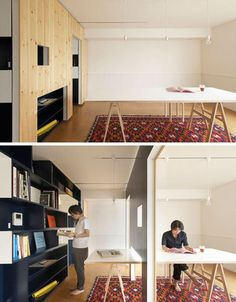 2 rooms in one