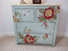 Turn a plain dresser into something special.