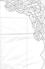 Risultati immagini per Disegno carta per centro, ricamo a intaglio - Manidifata.it - Google Search - Google Search