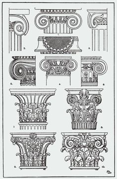 Architecture Printable Corinthian Columns Diagram Columns The