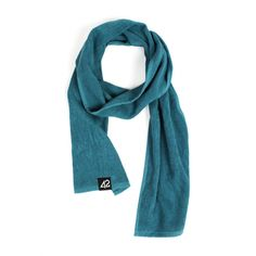 PUNCHI - Natural Petrol - #Scarf that's a towel, #Towel that's a scarf