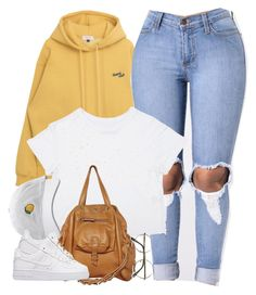 """""""1373 • Heart Club"""" by cheerstostyle ❤ liked on Polyvore featuring Jérôme Dreyfuss and NIKE"""