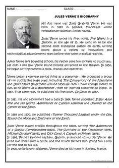 Analytical Essay on Jules Verne