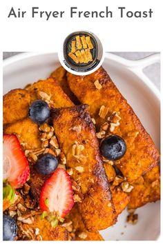 Air Fryer French Toast Sticks are the perfect breakfast, brunch or snack food. They are so easy to make in the air fryer and get a nice crisp outside on the french toast. You can make these ahead of time and freeze them for later! 1 reviews · 16 minutes · Vegetarian · Serves 4