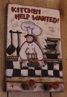 Help Wanted, Hangers, Kitchen, Clothes Hanger, Cooking, Clothes Hangers, Kitchens, The Hunger, Cuisine
