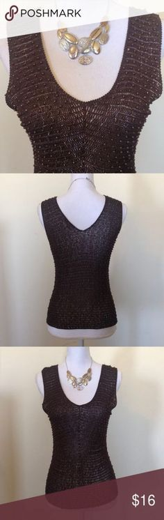 Would look great over a bathing suit top for summer or could be dressed up with shorts or jeans. Brand is Sophie Chang Studio. Bundle for discount. In excellent condition! Crochet Socks Pattern, Crochet Amigurumi Free Patterns, Crochet Top Outfit, Cute Tank Tops, Crochet For Kids, Top Pattern, Bathing Suits, Dress Up, Irish Crochet