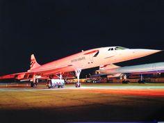 "Concorde: British Airways: ""Nght Shot."""