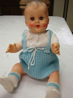 Constance Bannister Vintage Squeak Baby Doll Made by The Sun Rubber Company (06/26/2012)