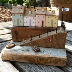 Harbour slipway #driftwood #shabbydaisies #litthouse #beach #harbour…