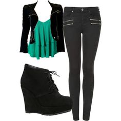 Katherine Pierce Inspired Outfit - pinterest @redwidow8