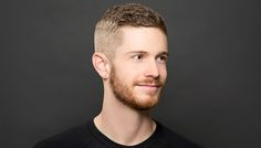 Named after Ivy League crew teams who wanted to keep hair out of their faces, the crew cut is one of the simplest men's haircuts, with buzzed short sides and a slightly longer guard on the top.
