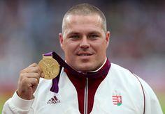 Krisztián Pars - Men's Hammer Throw   Gold Medalist. http://www.budpocketguide.com