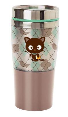 Sanrio Chococat Argyle Stainless Steel Mug Chococat http://www.amazon.com/dp/B003VCMQAG/ref=cm_sw_r_pi_dp_ZBI-ub1266F9Z