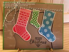 Big Sky Stampin': The stockings were hung by the fireplace with care...
