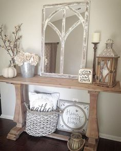 How to decorate a console table like a pro – Amber's Wanderland