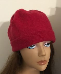 A personal favorite from my Etsy shop https://www.etsy.com/listing/265298535/unisex-cashmere-red-hat-felted-cashmere