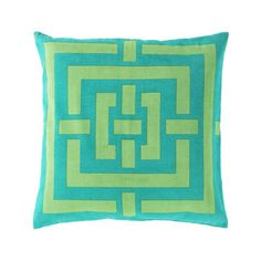 Labyrinth of the Sea Pillow Cover