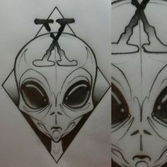 Instagram photo by kieransullivantattooist - X files tattoo design available #tattooing #tattoos #tattooartist