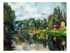 Bridge Over Ther Marne at Creteil, 1888, Paul Cézanne
