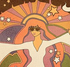 art Harleyandj- art Harleyandj art Harleyandj - The definition 60s Art, Retro Art, Funky Art, Kunst Inspo, Art Inspo, Psychedelic Art, Mundo Hippie, Retro Kunst, Arte Indie