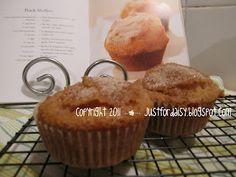 justfordaisy: Recipe: Peach Muffins