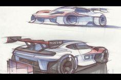 Porsche launches the Mission R Concept | Article | Car Design News