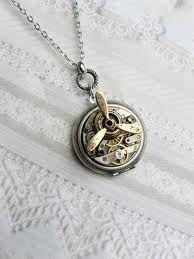 Steampunk jewelry.