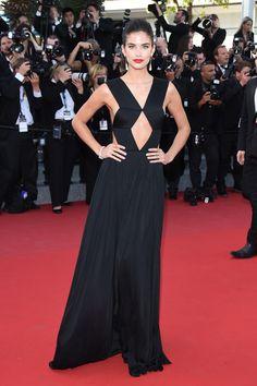 Sara Sampaio in Vionnet - 2015 Cannes Film Festival
