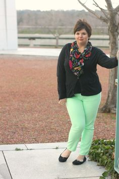 Hems for Her Trendy Plus Size Fashion for Women: Minty Fresh Feeling