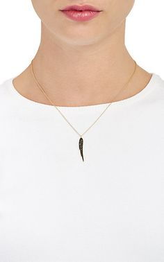 Finn Angel-Wing Pendant Necklace -  - Barneys.com