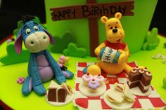 Eeyor and Pooh by Andreas SweetCakes, via Flickr