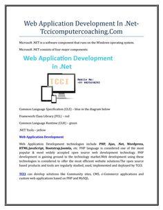 Web application development in net tccicomputercoaching com