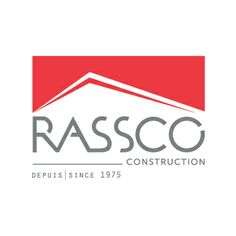 Rassco construction company logo - an example of hand rendered type made digital. We also created and developed their brand new website, check it out! http://rassco.ca/en/