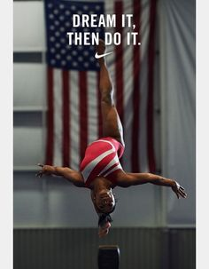 Love her❤ #ownpic #pinterest #simonebiles #nike #nikemotivation #nikewallpaper