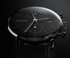 Products we like / Watch / Junghans / Classic / Chronoscope / Black / at inspiration