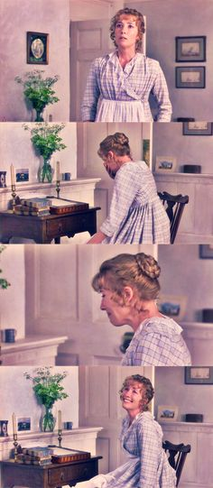 """Then you are...unmarried."" *cue explosion of joyful sobs * Love this scene from Sense and Sensibility!"