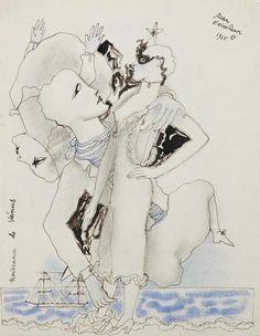 LA NAISSANCE DE VÉNUS By Jean Cocteau