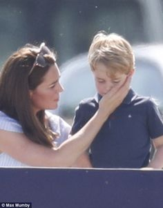 Catherine,George and Charlotte supported Prince William as he participated in the Maserati Royal Charity Polo Trophy William Kate, Prince William And Catherine, Lady Diana, Princess Charlotte, Princess Diana, George Of Cambridge, Princesa Kate Middleton, Diana Williams, Prince George Alexander Louis