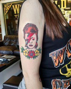 David Bowie Tattoos | POPSUGAR Beauty UK