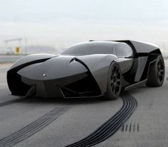 'If Darth Vader and The Batmobile had a love child..' Find out which superhero would drive this badboy? #spon #Lamborghini
