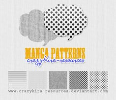 a bunch of free downloadable patterns for web and digital scrapbooking.