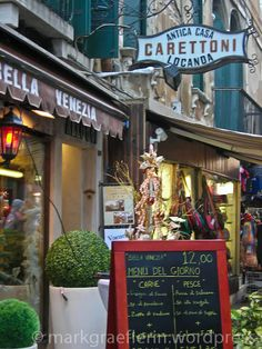 www.sanmarco.org  Bella Italia – Venezia – APEROL SPRITZ und Sarde in saòr