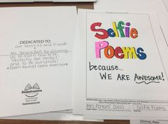 So touched and proud. A Selfie-poem book based on the NPHC activities and dedicated to me, Ms. Selfies, Poems, Author, Student, Activities, Book, Poetry, Books, A Poem